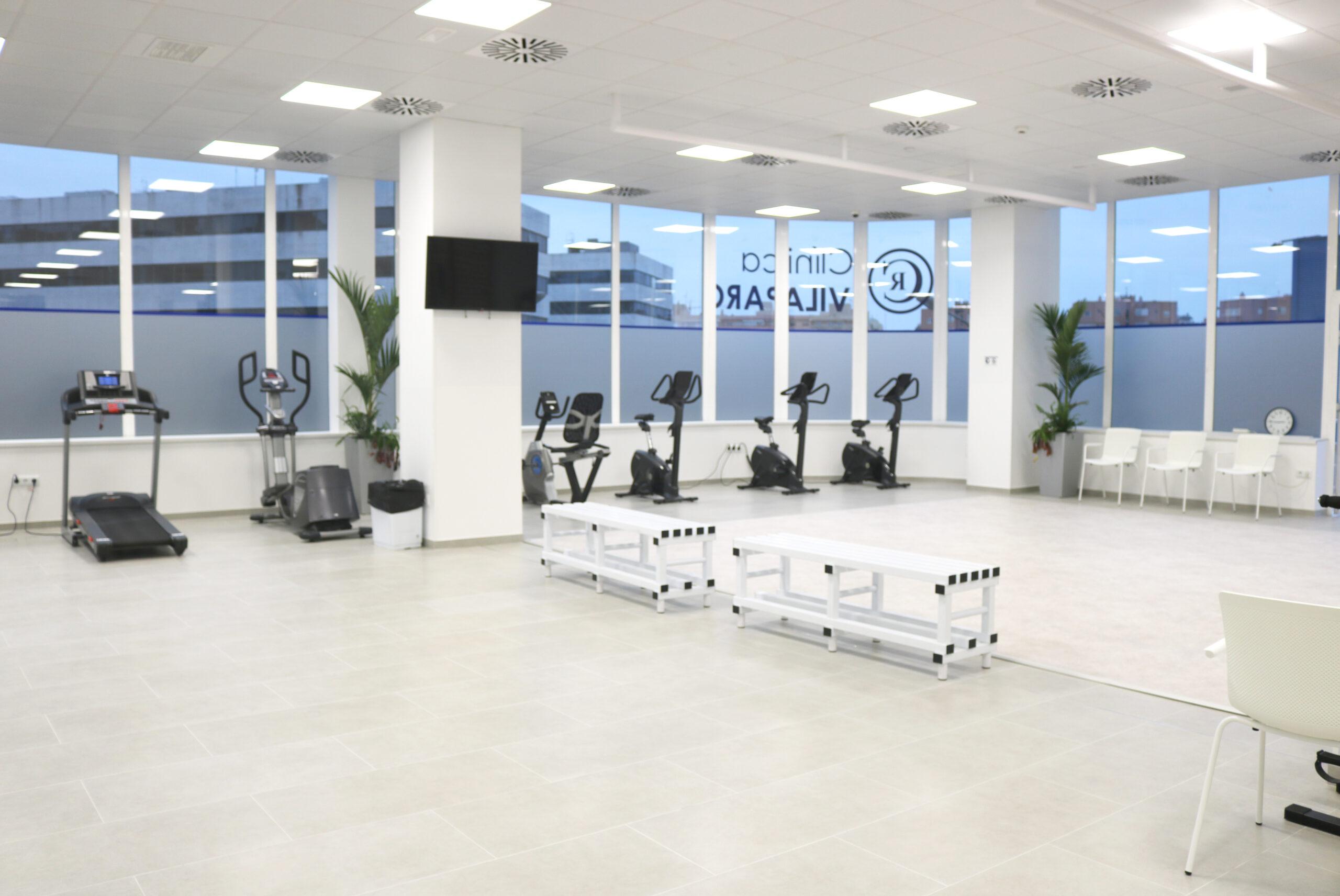 GIMNASIO clínica Villa Parc Ibiza