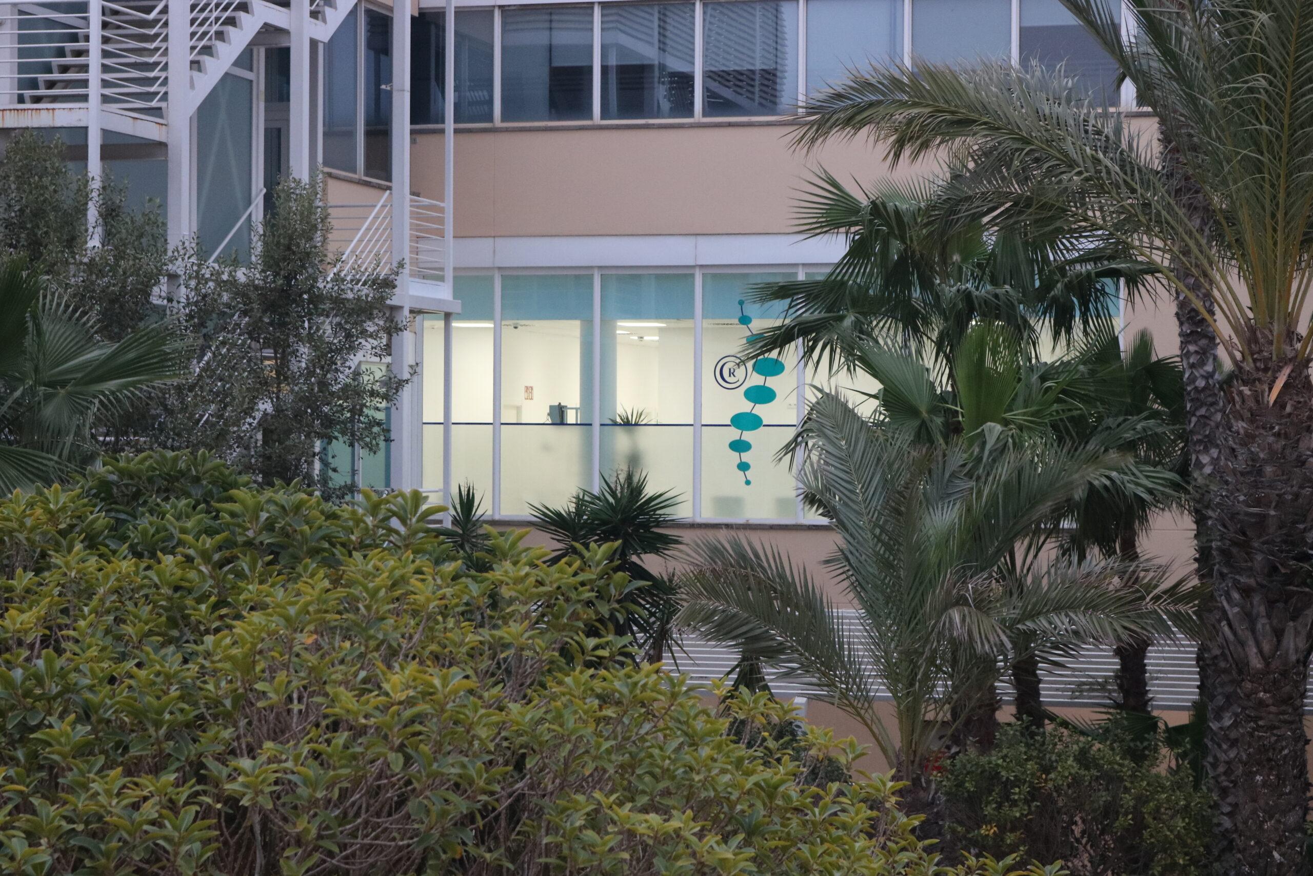 Fachada clínica Villa Parc Ibiza