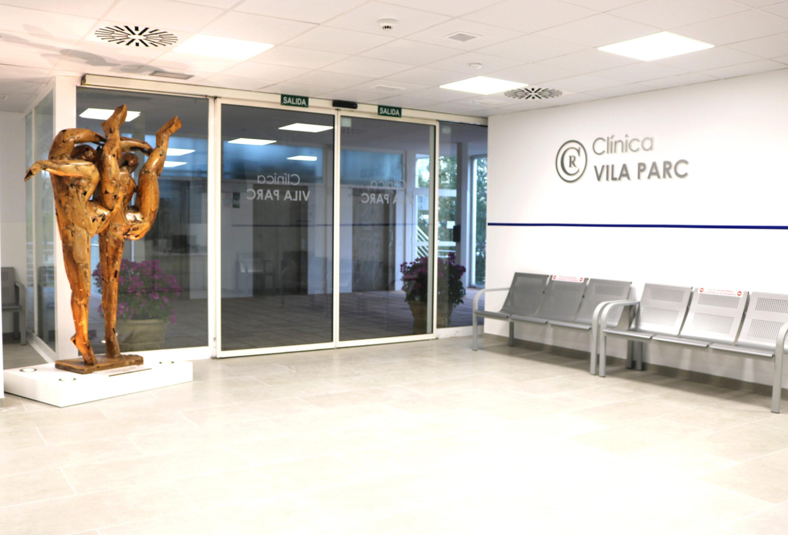 RECEPCIÓN clínica Villa Parc Ibiza